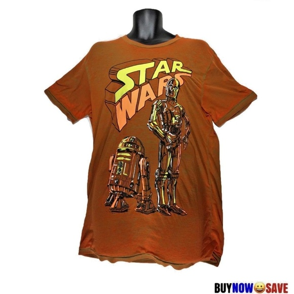 Mad Engine Star Wars Those Droids C3PO R2D2 Youth T-Shirt